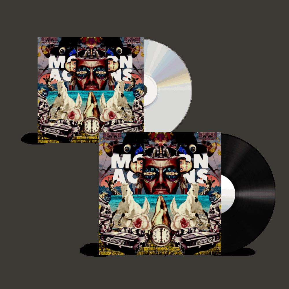 Buy Online Space Monkeys - Modern Actions CD + Modern Actions Vinyl