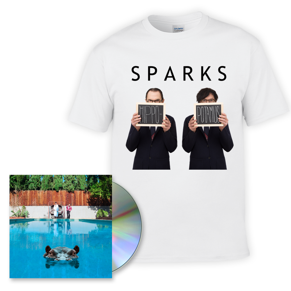 Buy Online Sparks - Hippopotamus CD/T shirt