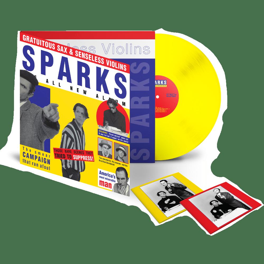 Buy Online Sparks - Gratuitous Sax & Senseless Violins Yellow
