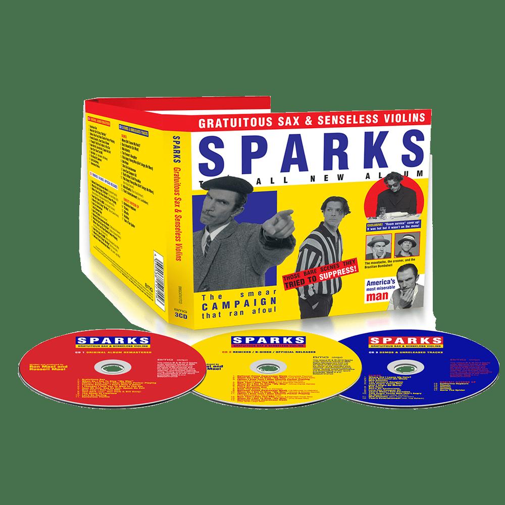 Buy Online Sparks - Gratuitous Sax & Senseless Violins 3