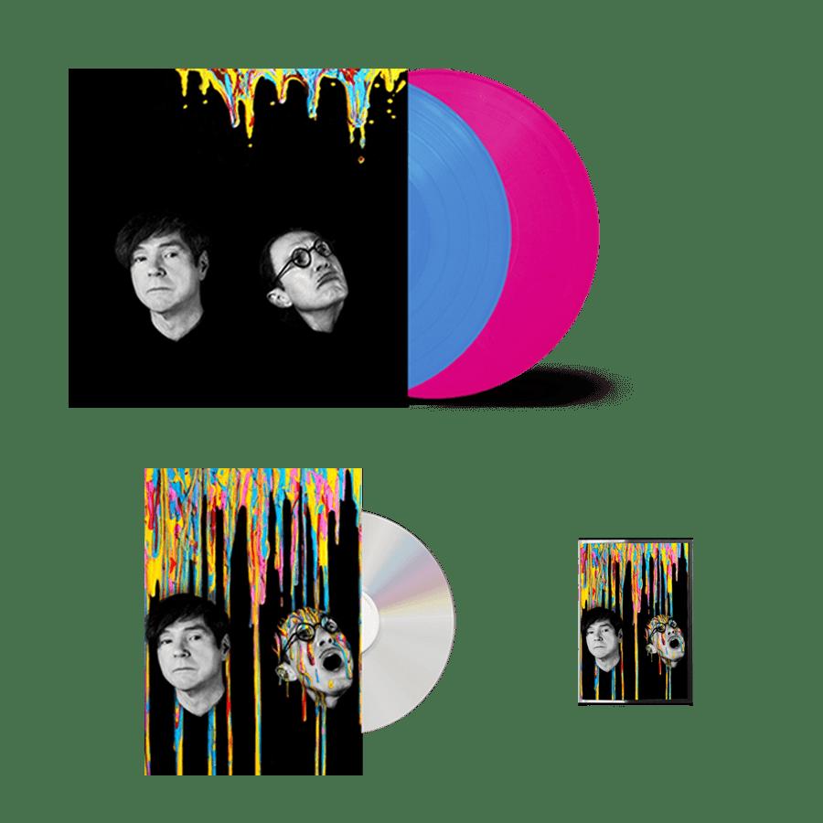 Buy Online Sparks - A STEADY DRIP, DRIP, DRIP CD (Book Edition) + Double Heavyweight (Coloured) Vinyl + Cassette
