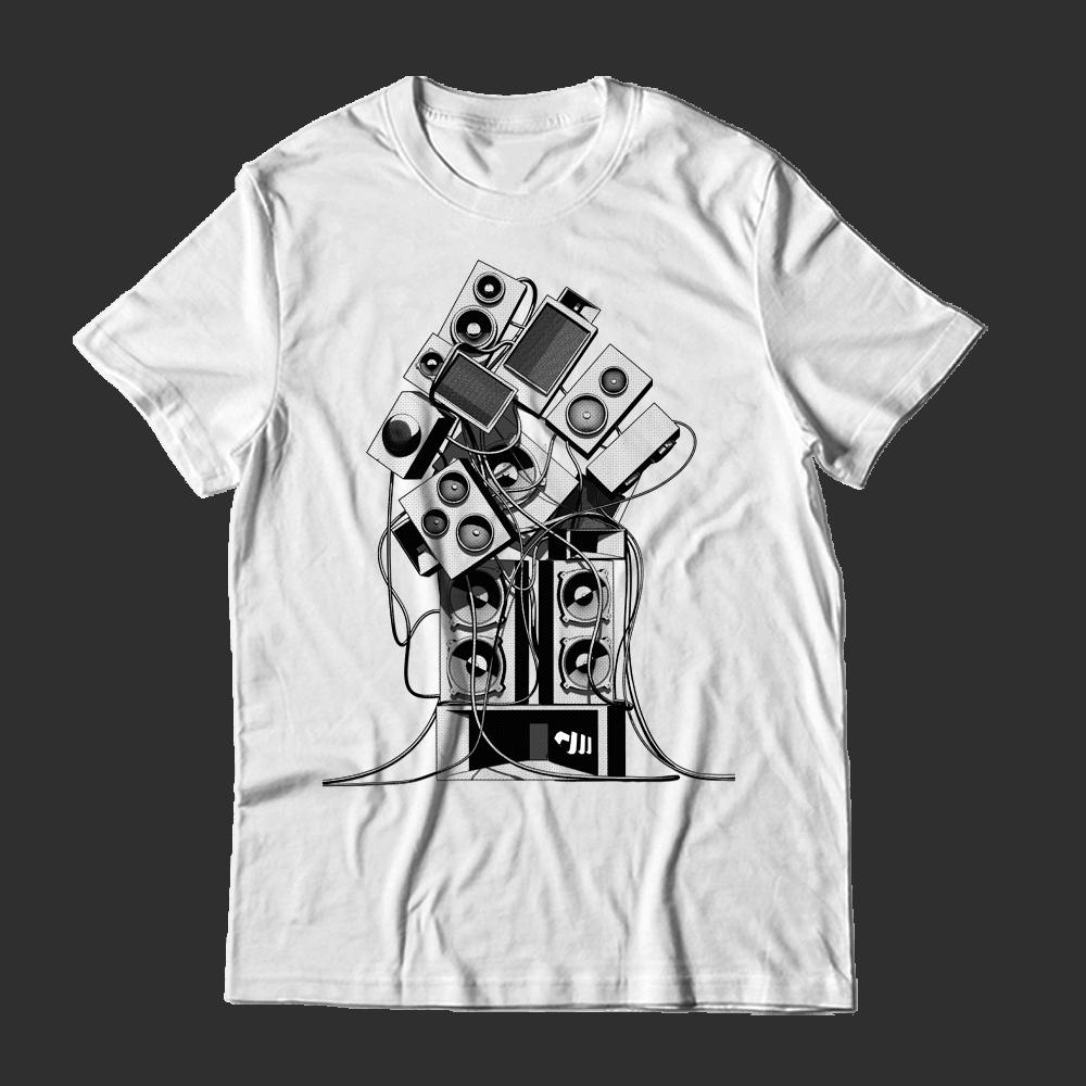 Buy Online Stanton Warriors - Black Wireframe T-Shirt