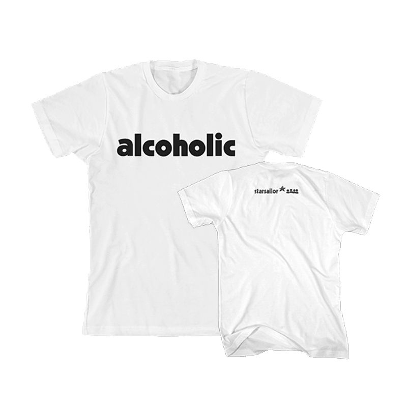 Buy Online Starsailor - Alcoholic T-Shirt