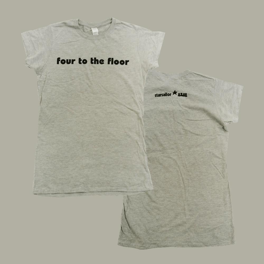 Buy Online Starsailor - Four To The Floor Ladies T-Shirt