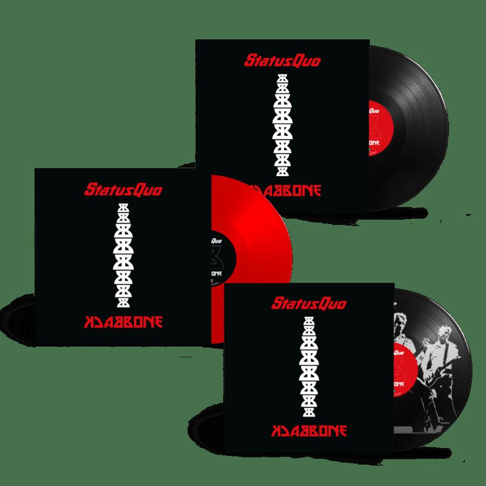 Buy Online Status Quo - Backbone Picture Disc Vinyl + Red Vinyl (Exclusive) + Black Vinyl