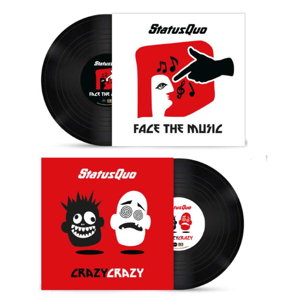 Buy Online Status Quo - Crazy, Crazy / Face The Music