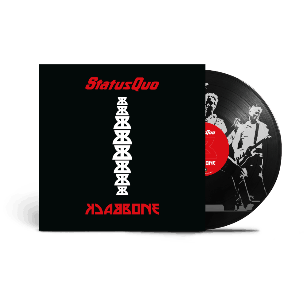 Buy Online Status Quo - Backbone Heavyweight Gatefold ltd. Picture Disc Vinyl (Incl. Download Card)