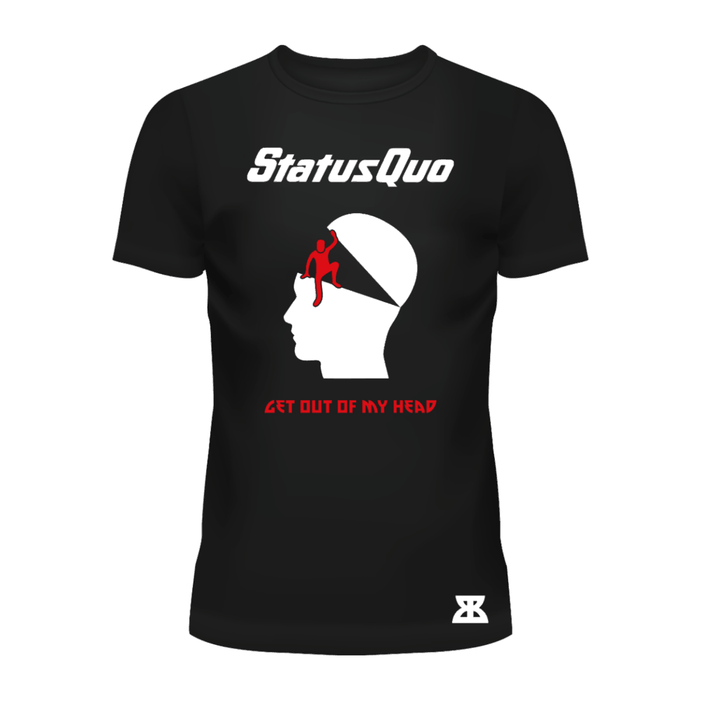 Buy Online Status Quo - Get Out Of My Head T-Shirt