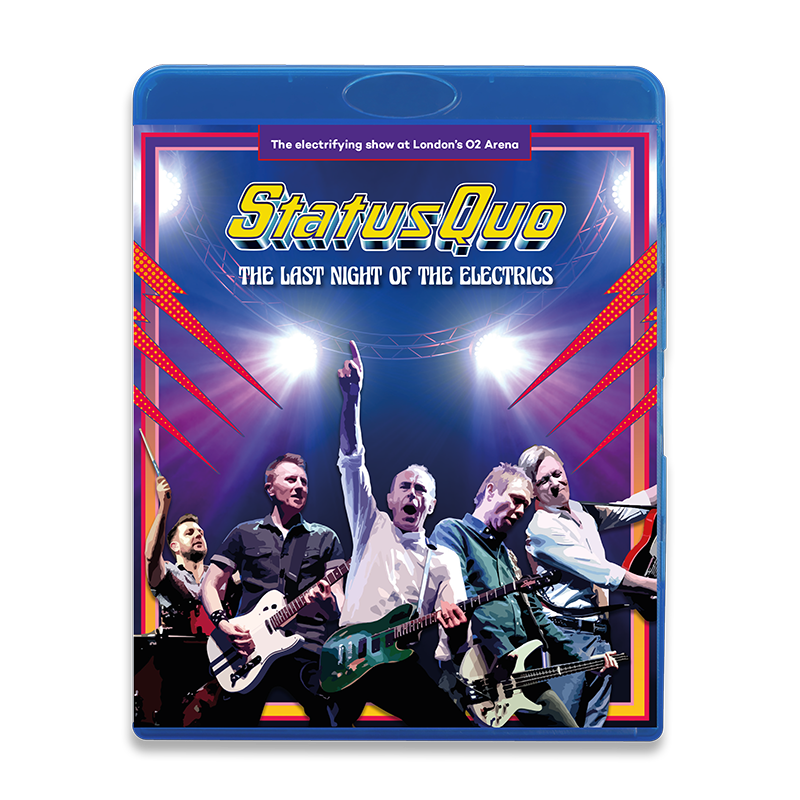 Buy Online Status Quo - The Last Night Of The Electrics (Blu-ray)
