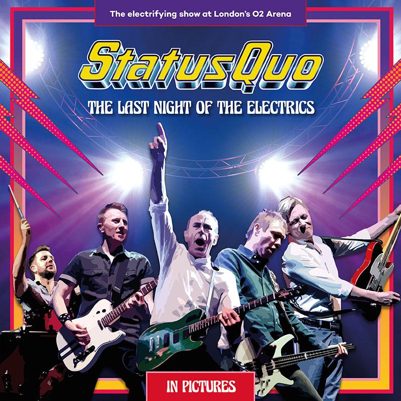Buy Online Status Quo - The Last Night Of The Electrics (Double Gatefold Black 180g Triple Vinyl)