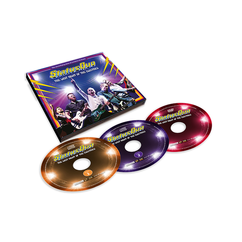 Buy Online Status Quo - The Last Night Of The Electrics (Ltd. 2CD+DVD Edition)