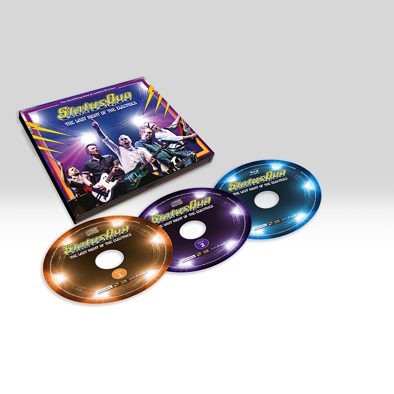 Buy Online Status Quo - The Last Night Of The Electrics (Exclusive Ltd. 2CD+Blu-ray Edition)