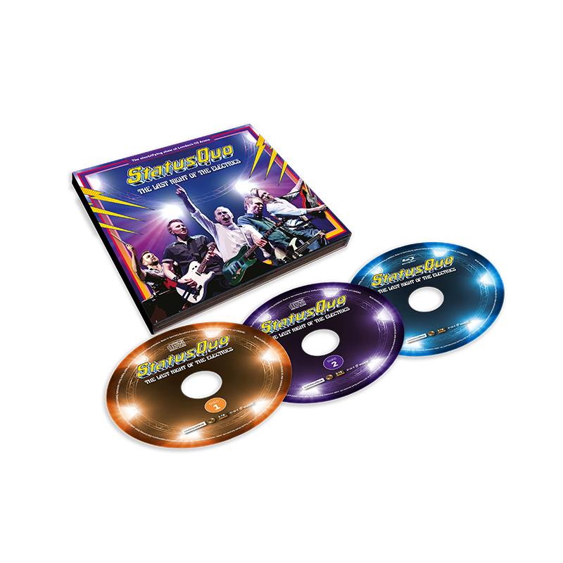 Buy Online Status Quo - The Last Night Of The Electrics