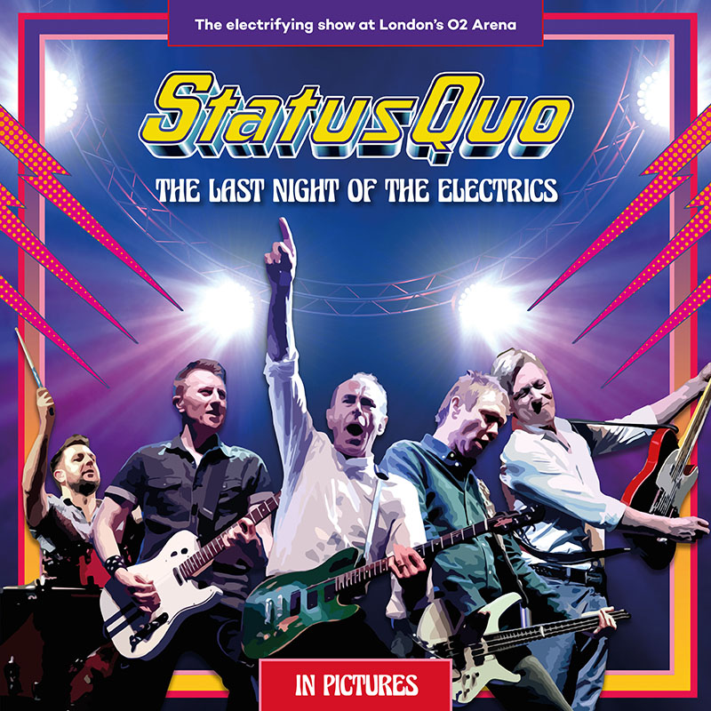 Buy Online Status Quo -  The Last Night Of The Electrics (W/ Personalised Signed Certificate Exclusive Ltd. earBOOK with 2CD, DVD, Blu-ray)