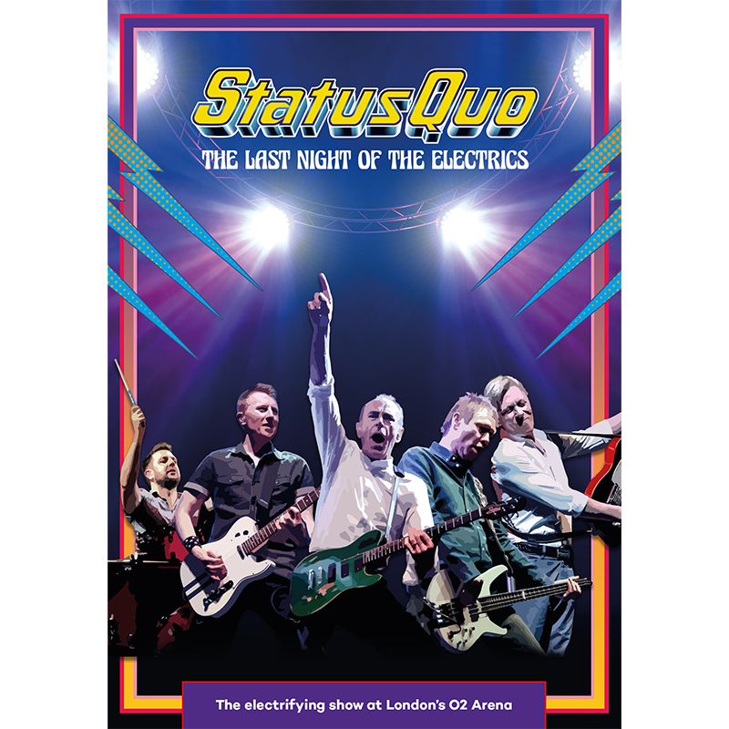 Buy Online Status Quo - The Last Night Of The Electrics (Exclusive A2 Poster)