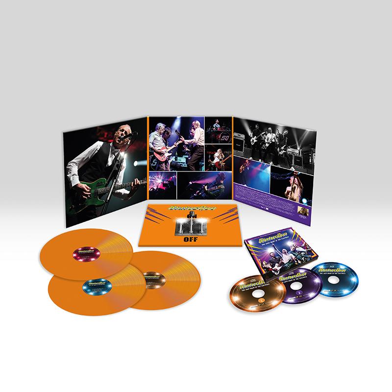 Buy Online Status Quo - The Last Night Of The Electrics (2CD/Blu-Ray & 3LP Bundle)