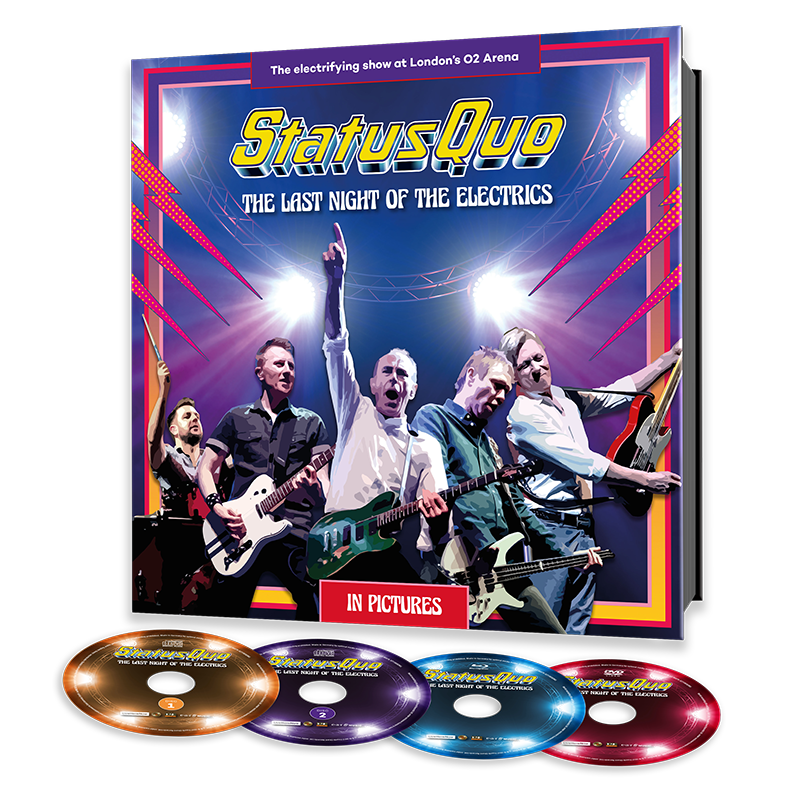 Buy Online Status Quo -  The Last Night Of The Electrics  (Ltd. earBOOK Edition with 2CD, DVD, Blu-ray)
