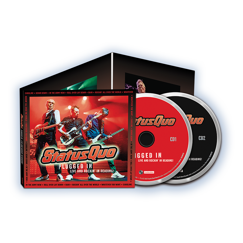 Buy Online Status Quo - Plugged In Live And Rockin' In Reading