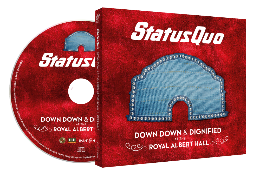 Down Down & Dignified At The Royal Albert Hall Digipack CD