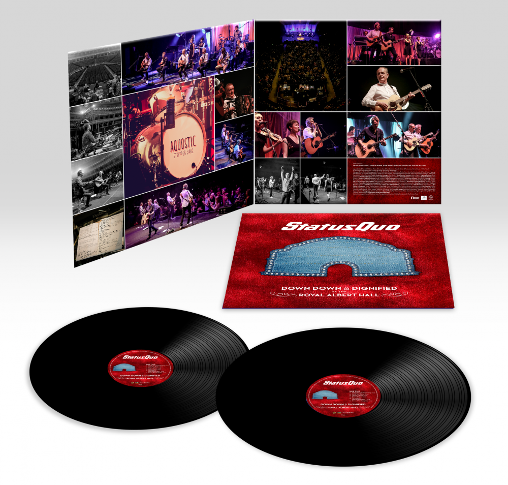 Down Down & Dignified At The Royal Albert Hall (2LP Black 180g Gatefold Vinyl incl. Download)