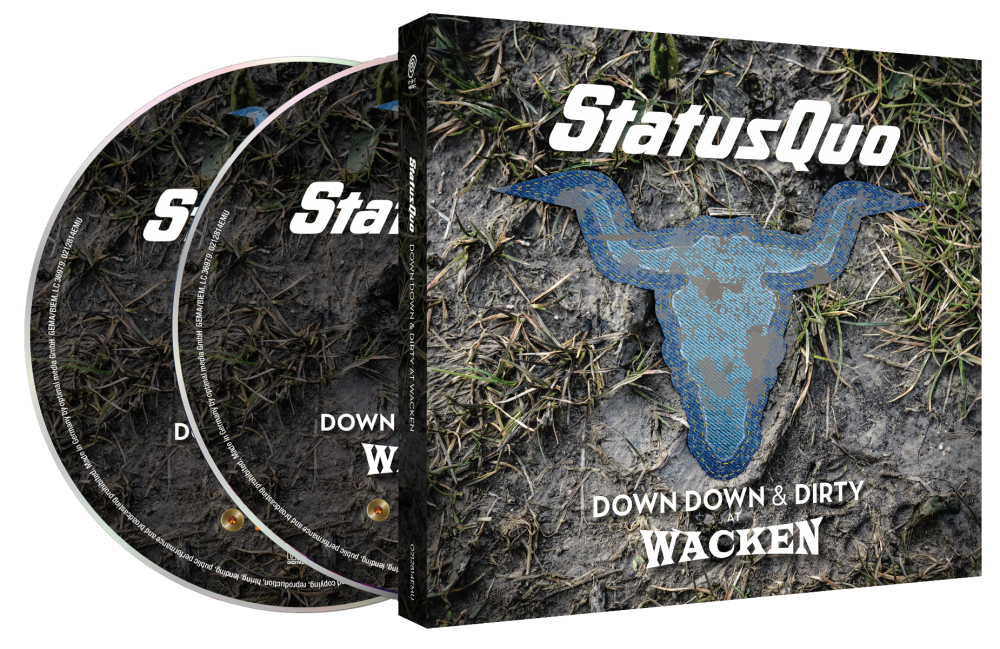 Buy Online Status Quo - Down Down & Dirty At Wacken CD+DVD Digipak