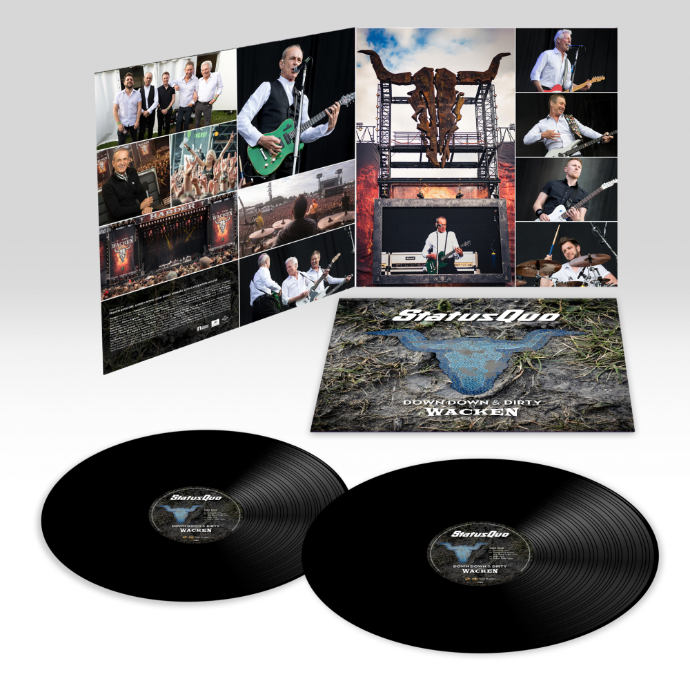 Down Down & Dirty At Wacken (Ltd. 2LP Black 180g Gatefold Edition incl. Download + Full Concert DVD)