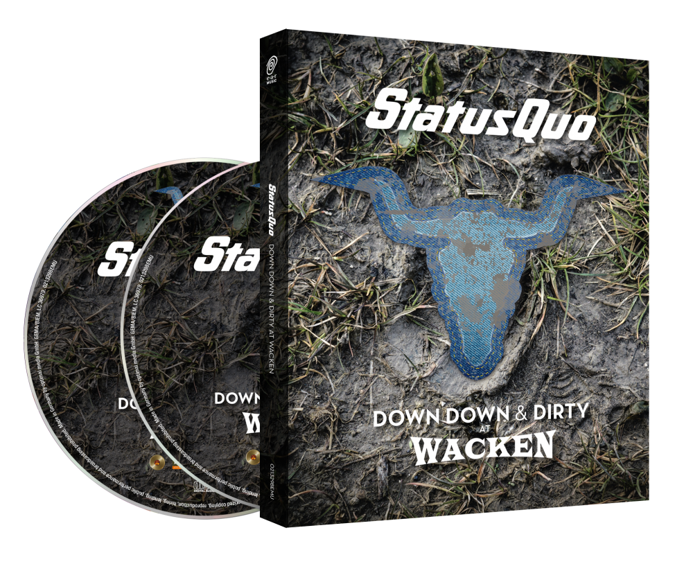 Buy Online Status Quo - Down Down & Dirty At Wacken (Ltd. Blu-ray+CD Edition)