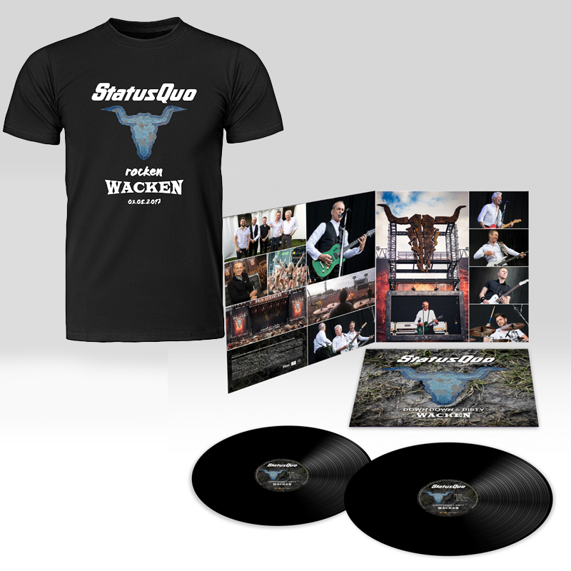 Down Down & Dirty 2LP + DVD plus T-Shirt Bundle