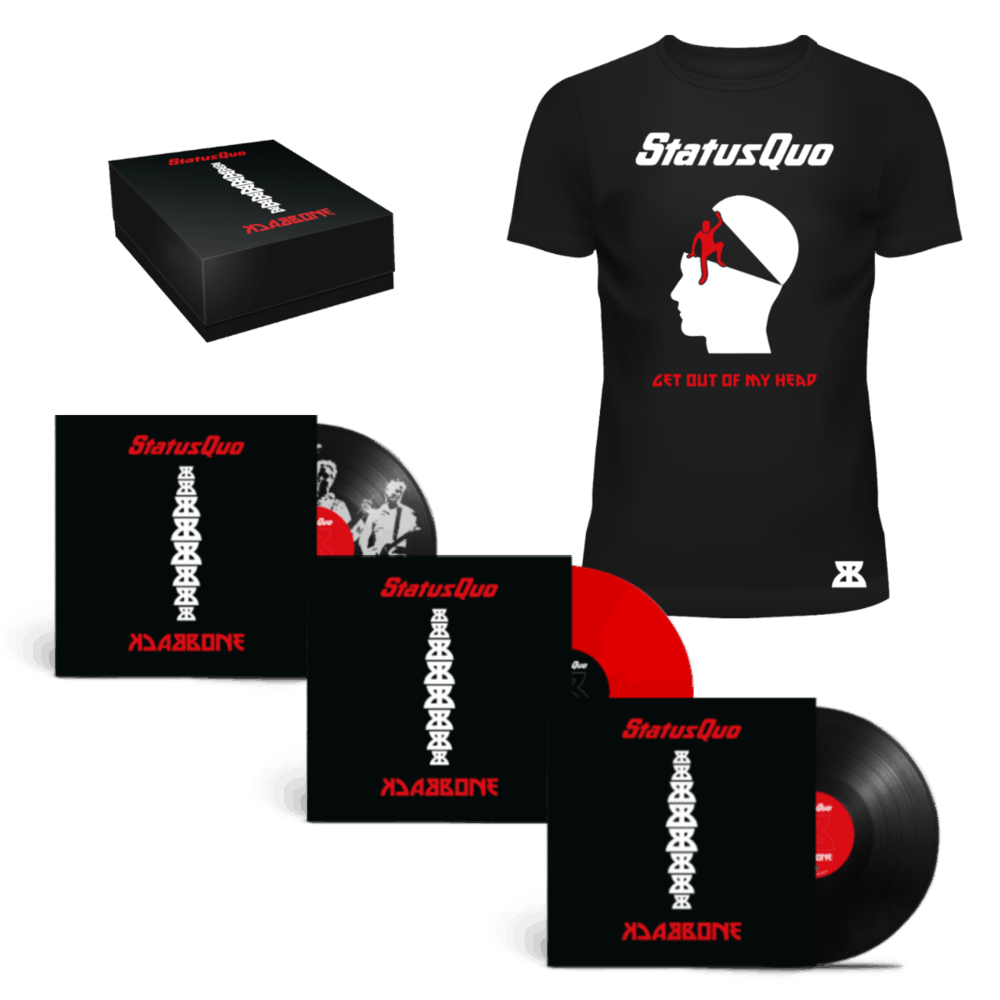 Buy Online Status Quo - Backbone Deluxe Bundle 1