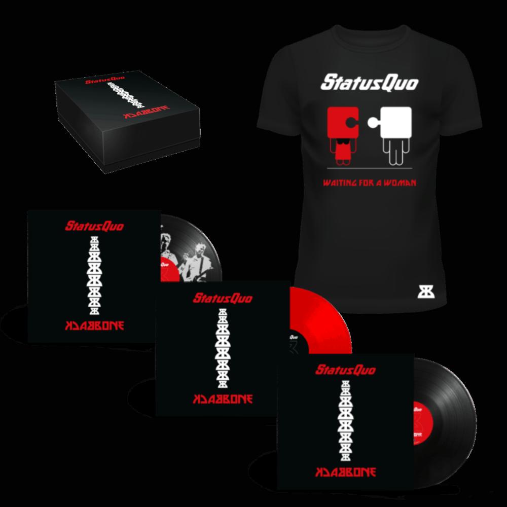 Buy Online Status Quo - Backbone Deluxe Bundle 2