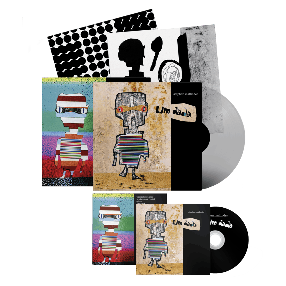 Buy Online Stephen Mallinder - Um Dada CD + Clear Ltd Edition Vinyl