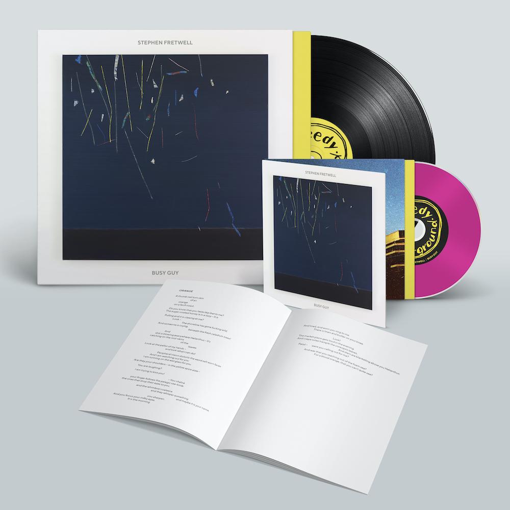 Buy Online Stephen Fretwell - Standard LP & CD (Includes Lyric Booklet)