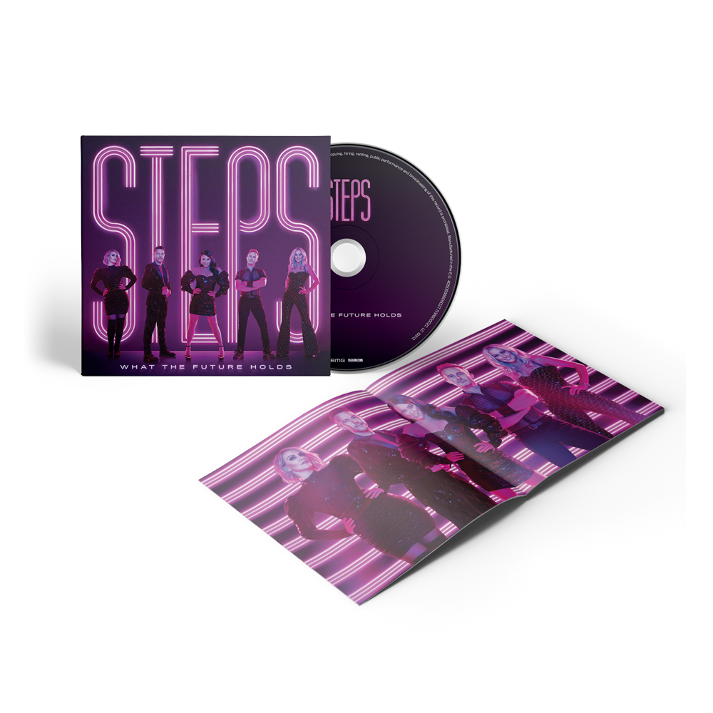 Buy Online Steps - What The Future Holds CD Album