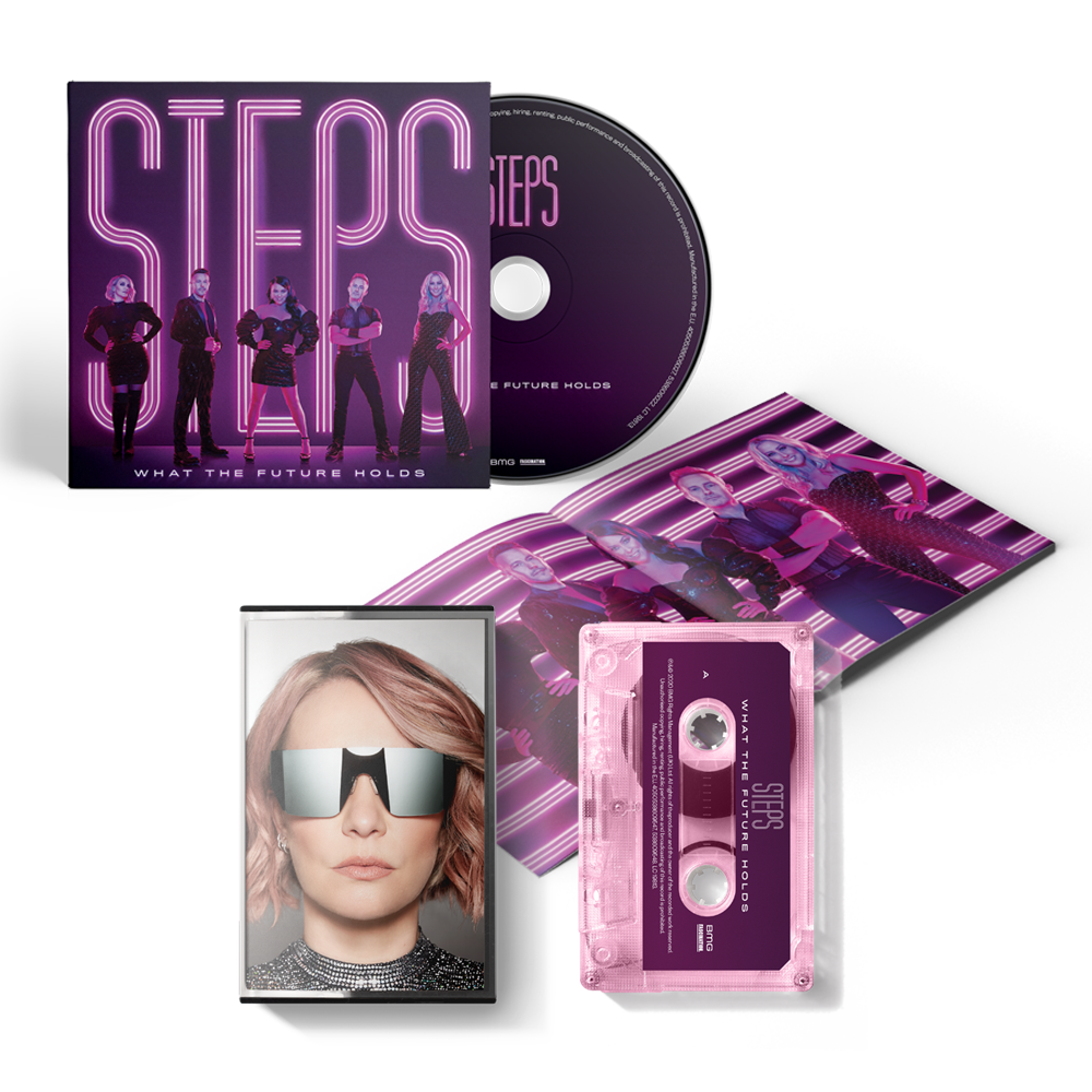 Buy Online Steps - What The Future Holds CD Album + Pink Cassette: Claire Edition (Exclusive)