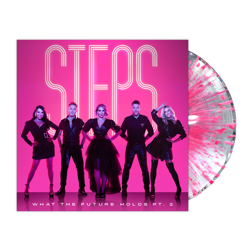 Buy Online Steps - What The Future Holds Pt. 2 Ultra Clear/Pink Splatter Vinyl (Exclusive)