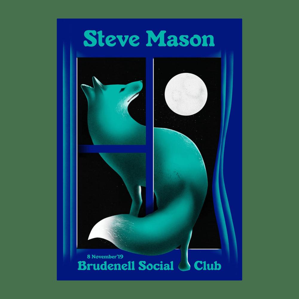 Buy Online Steve Mason - Brudenell Social Club A2 Poster