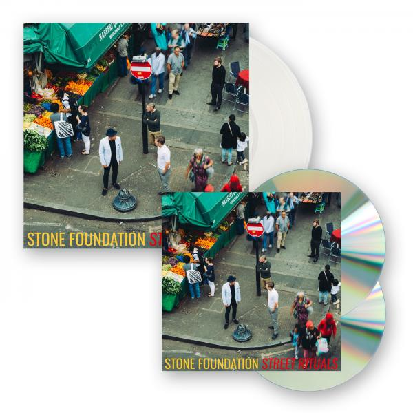 Buy Online Stone Foundation - Street Rituals Clear Vinyl LP (Ltd Edition) + CD/DVD