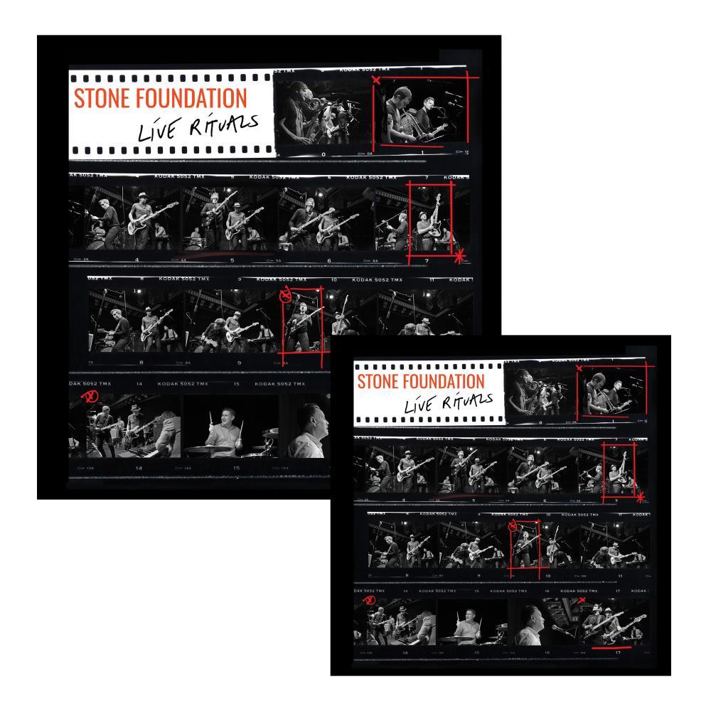 Buy Online Stone Foundation - Live Rituals CD/DVD + Double Vinyl