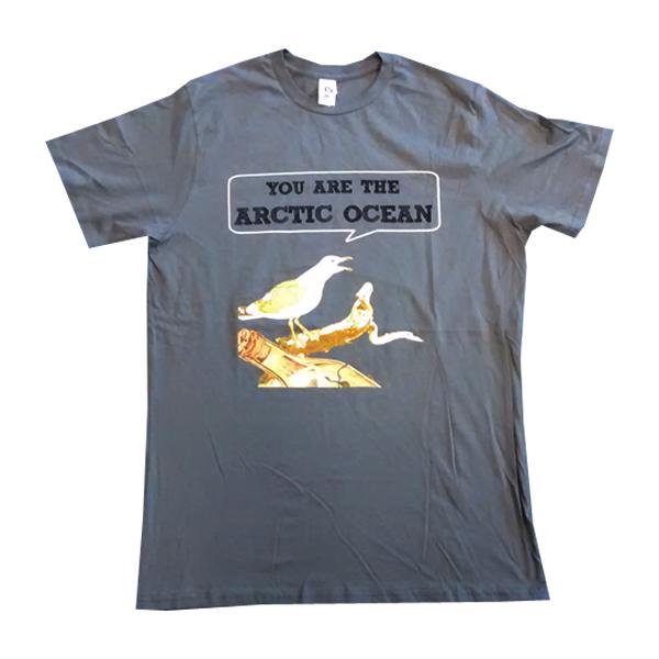 Buy Online Stornoway - Dark Grey Arctic T-Shirt