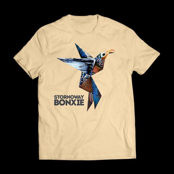 Buy Online Stornoway - Bonxie Natural T-Shirt
