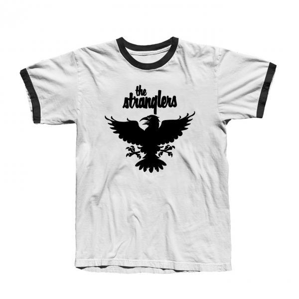 Buy Online Stranglers - Raven Ringer T-Shirt