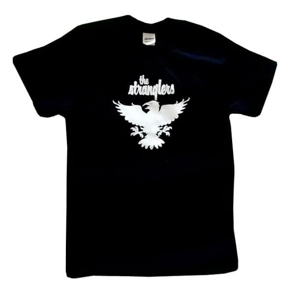 Buy Online Stranglers - White Raven T-Shirt