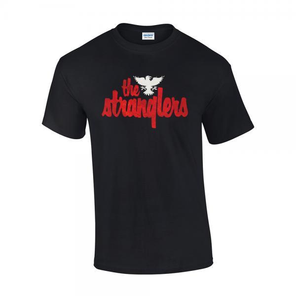 Buy Online Stranglers - Aged Logo T-Shirt