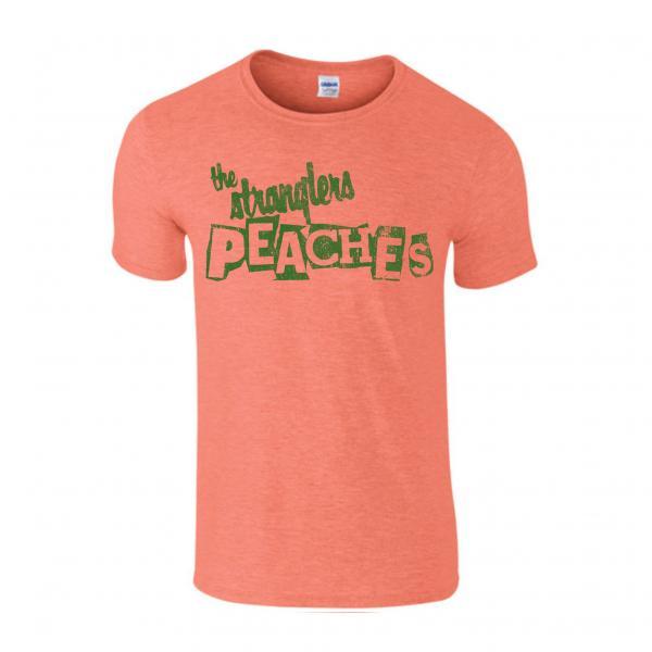 Buy Online Stranglers - Peaches Orange Ladies Distressed T-Shirt