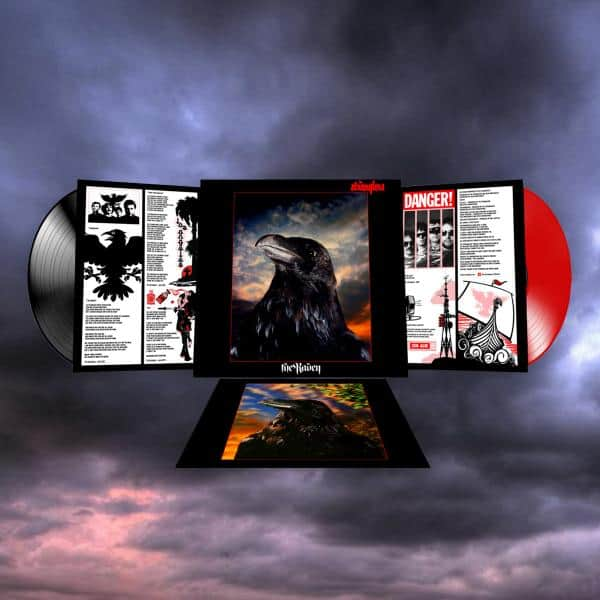 Buy Online Stranglers - The Raven 2016 Double Heavyweight Red & Black Vinyl LP (Numbered, Limited Edition)