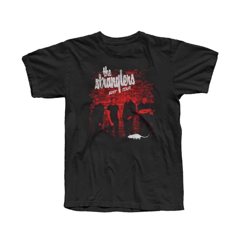 Buy Online Stranglers - Band Wall Tour T-Shirt