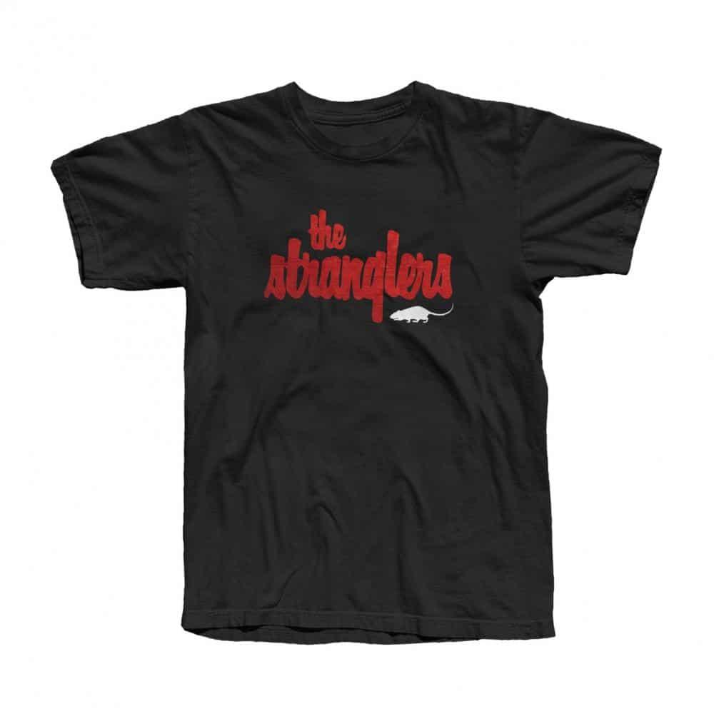 Buy Online Stranglers - Wall Logo T-Shirt
