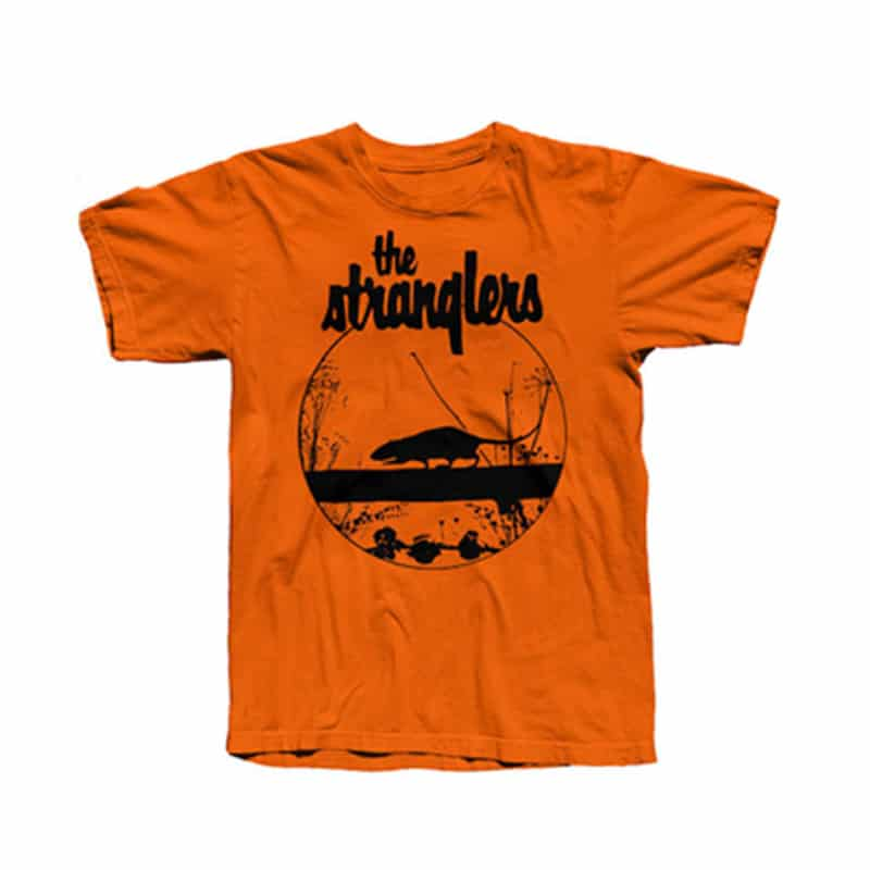 Buy Online Stranglers - Orange Rattus T-Shirt