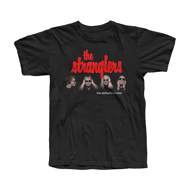 Buy Online Stranglers - Red Logo Tour T-Shirt