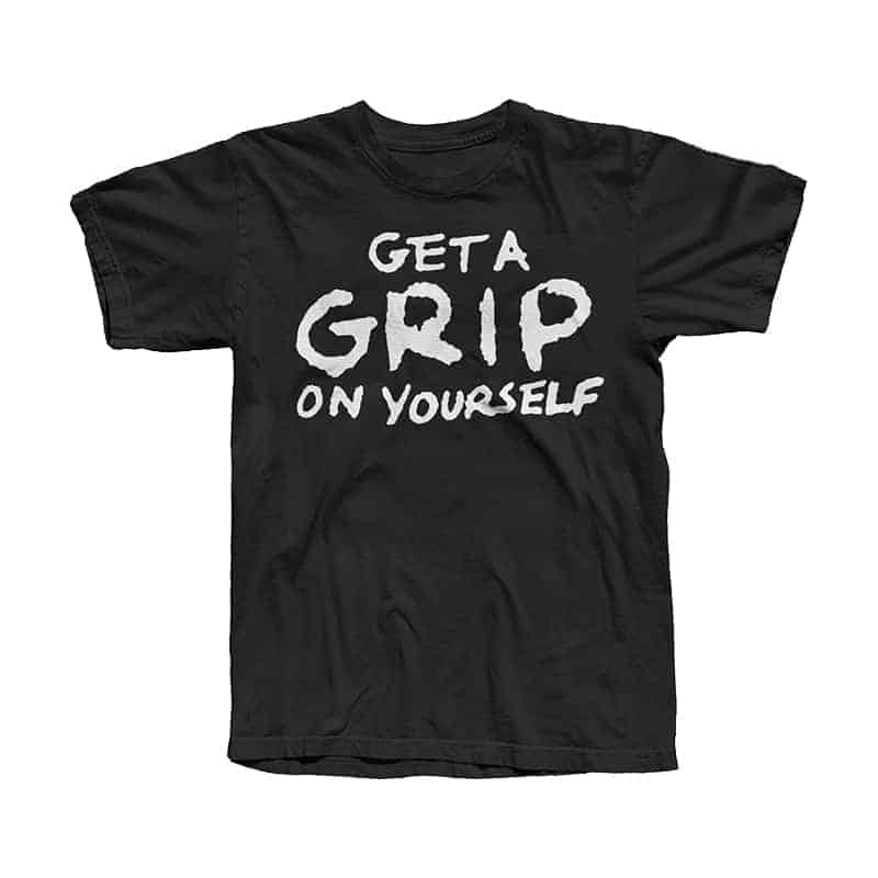 Buy Online Stranglers - Get A Grip T-Shirt